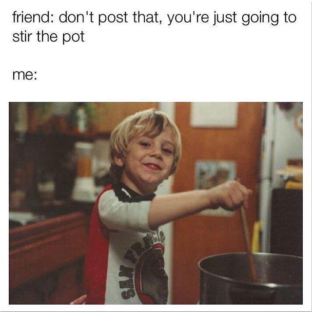 Tag that one friend solofilms solofilmsdvd funny meme stirthepot tagemhellip